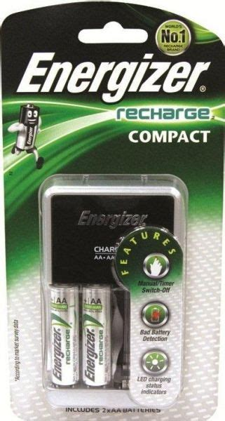 Dijamin Charger Energizer Recharge Compact Aa Aaa 9v energizer compact charger for aa aaa 9v price review and buy in uae dubai abu dhabi souq