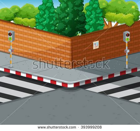 which corner does a st go on street corner stock images royalty free images vectors