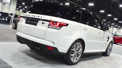 range rover back 2016 2016 range rover sport svr rear the fast lane car