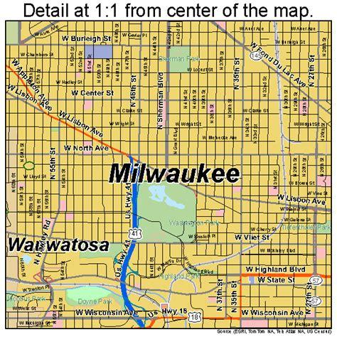 milwaukee wisconsin map wisconsin map milwaukee bnhspine