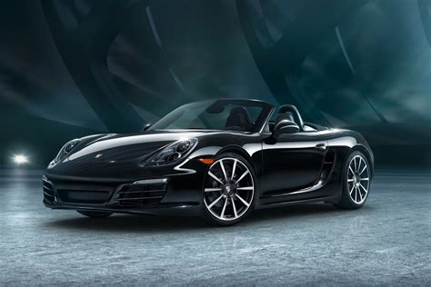 porsche black here s your gallery of porsche s new 911 and boxster black