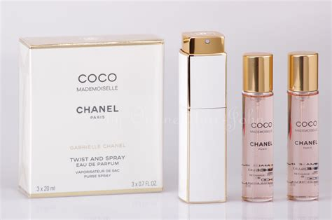 Parfum Twist chanel coco mademoiselle twist spray 3 x 20ml 60ml