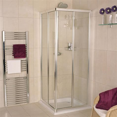 Curved Bath Shower Screen corner entry shower enclosures roman showers