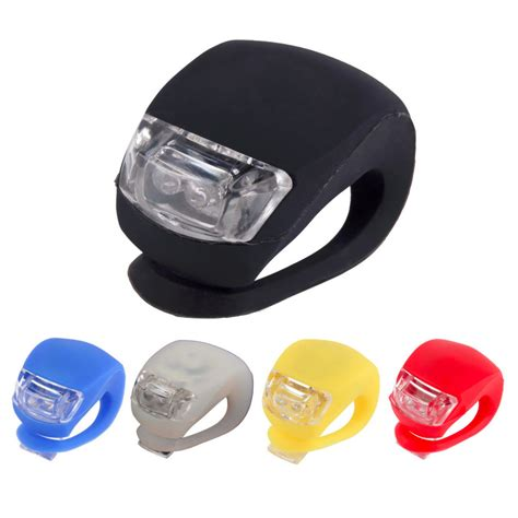 New Led Bike Lights Silicone Bicycle Light Head Front Rear New Led Light Bulbs