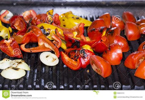 vegetables on the grill cooking vegetables on the grill stock photos image 36361013