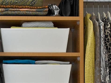 Wardrobe Storage Baskets by Closet Storage Baskets Hgtv