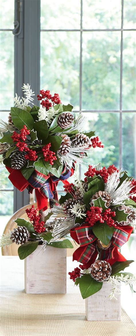 christmas topiaries christmas floral designs pinterest