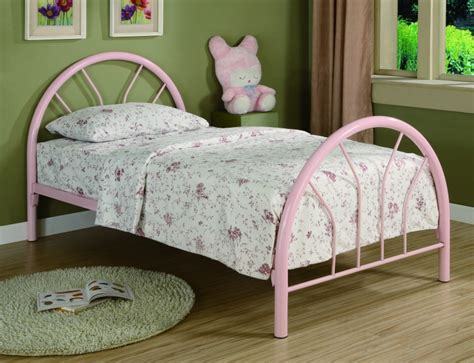 pink twin bed save big on bearcat twin metal bed frame pink
