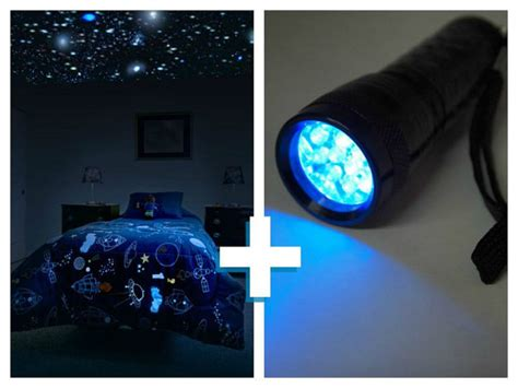 Glow In The Constellations For Ceiling by Glow In The Ceiling Kit With Uv Light For