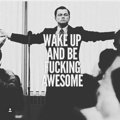 Fucking Awesome Meme - wolf of wall street wall street and leonardo dicaprio