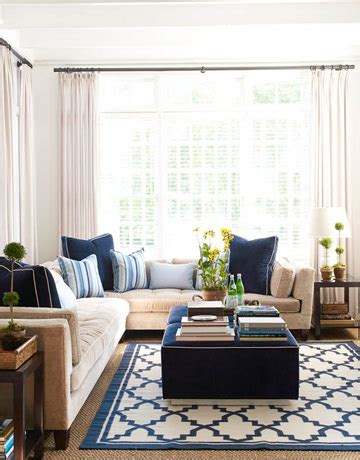 Blue And Neutral Living Room by Beautiful Blue And White Color Scheme Sensational Color