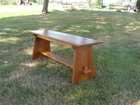 custom made benches custom made mission style bench woodworking and other