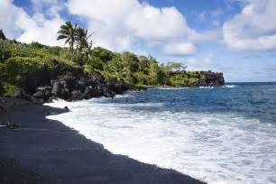 Black Sand Beaches Hawaii by Maui Hawaii Black Sand Beach