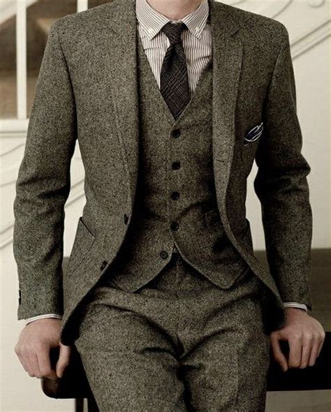 thick lush winter wool 3 suit sartorial