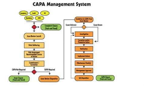 capa flowchart what are corrective and preventive actions quora