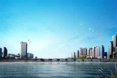 sky city building psd  millions vectors stock