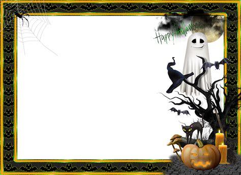 imagenes png hallowen 4 bordes para fotos de halloween en png listos para ser