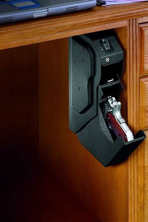 Desk Gun Safe by Gun Gun Safe And Desk Storage On