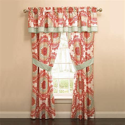 anthology curtains anthology bungalow window valance bed bath beyond