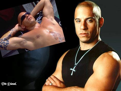 vin diesel tattoos pin vin diesel tattoos on