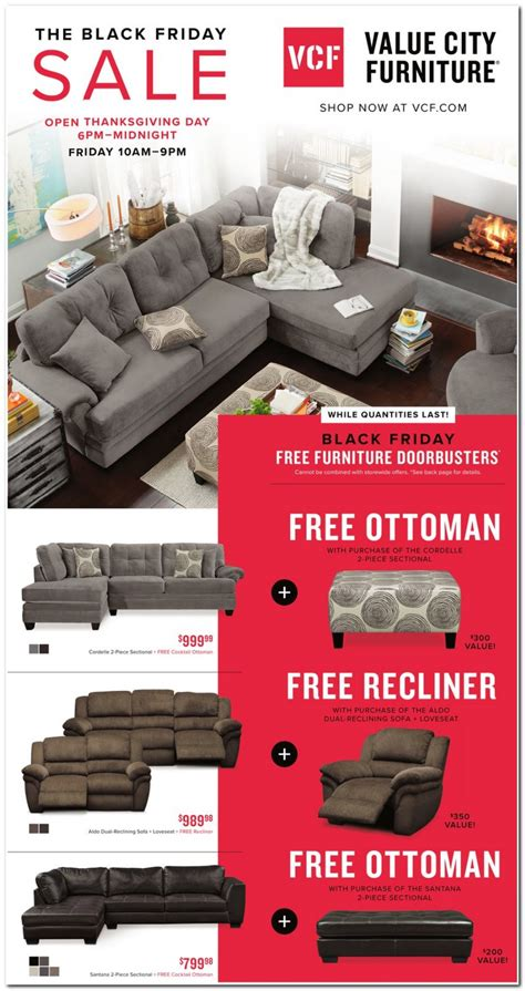 black friday recliner deals value city furniture black friday ads sales deals 2017