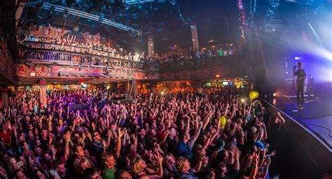 house of blues capacity live nation special events