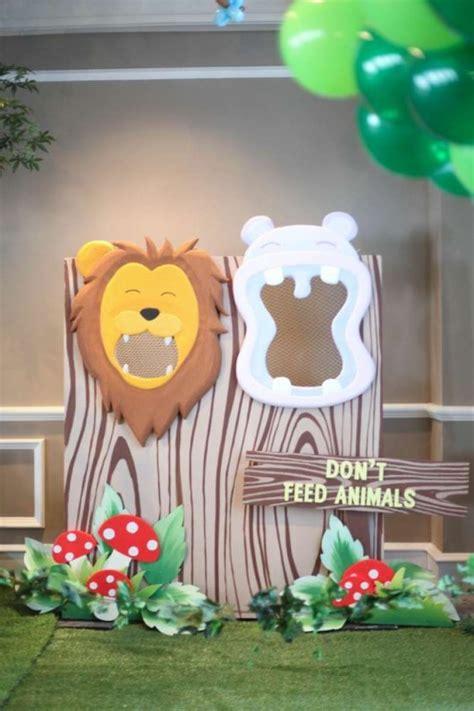 Animal Decoration Ideas by Some Astonishing Diy Birthday Ideas For Zoo Jungle