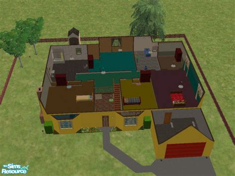 mod the sims the simpsons house 742 evergreen terrace boodie7 s 742 evergreen terrace