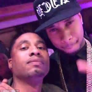 Chris Brown In The Shower by Jenner S Boyfriend Tyga Showers Dancers