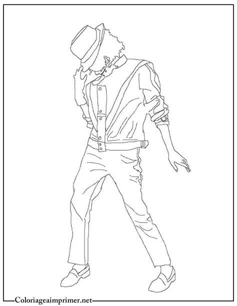 Coloriage Michael Jackson sur Coloriage à imprimer du net