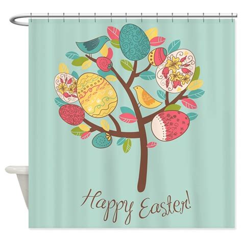 easter kitchen curtains easter shower curtain by bestshowercurtains