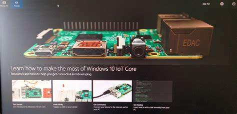 windows 10 iot gpio tutorial windows 10 iot core public release for raspberry pi 2