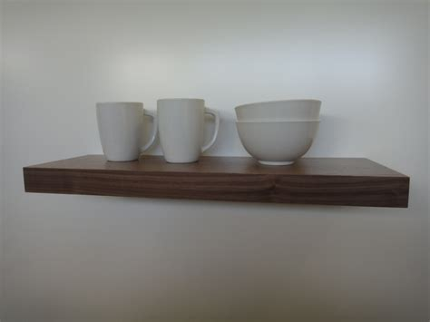 floating shelves walnut modern shelves wall shelf book