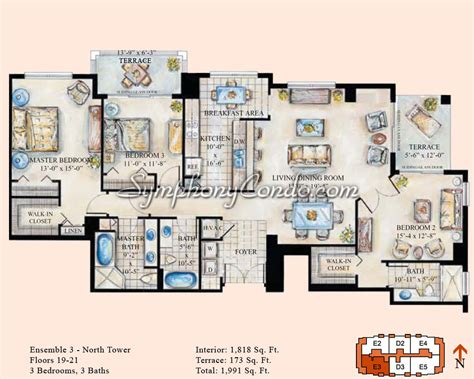 Las Olas River House Floor Plans symphony condo fort lauderdale floorplans