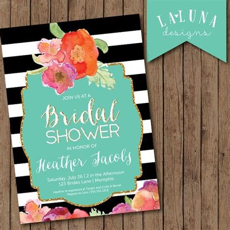 bridal shower philippines 2 bridal shower invitation floral black acid