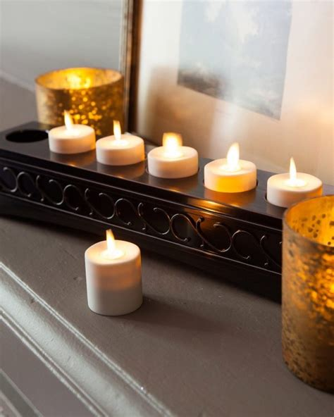 flameless tea lights with remote 50 unique tea light holders to light up your occasion
