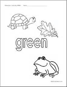 green coloring pages coloring pages green abcteach