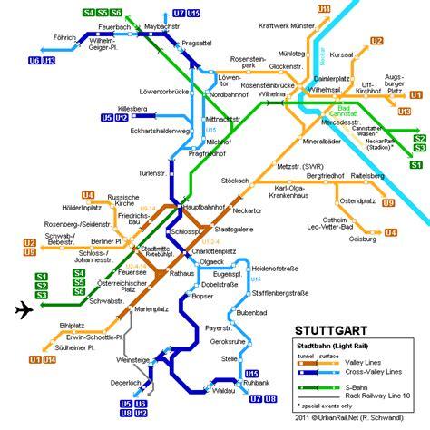 stuttgart on map stuttgart metro map pictures karte von deutschland stadt