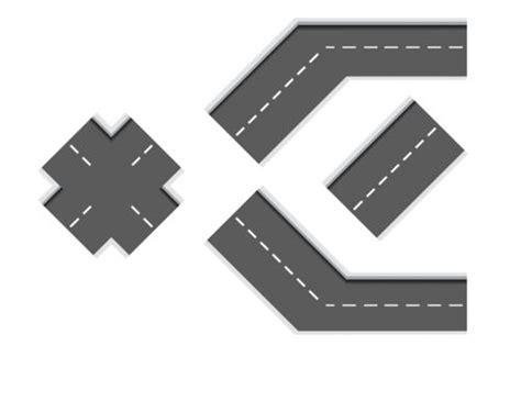 printable road tracks printable diy car tracks 4 way cars kid activities