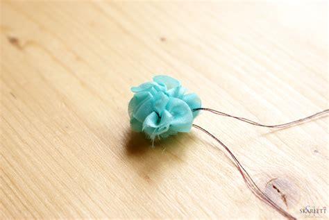 tutorial flores de organza tutorial flores de organza skarlett costura