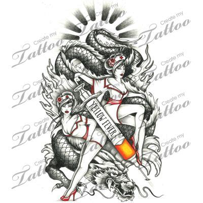 tattoo design marketplace marketplace tattoo yellow fever 12018 createmytattoo