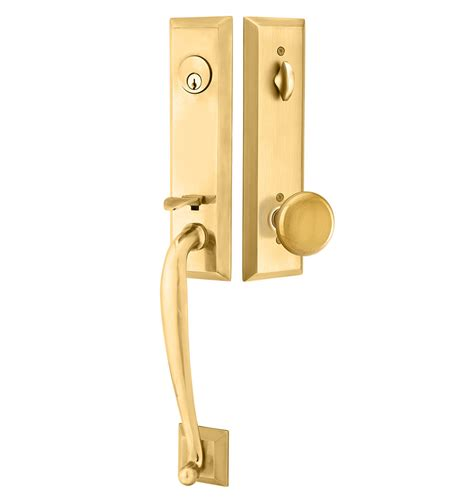 Front Door Knob Set by Exterior Tubelatch Door Set With Providence Knob