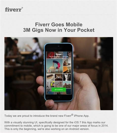 fiverr mobile site new fiverr mobile app for iphone ios fiverr tutorial