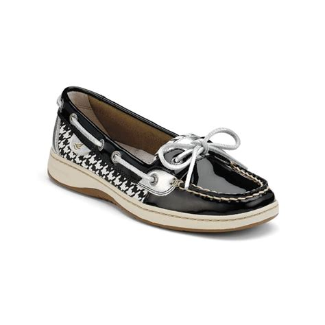 black sperry boat shoes sperry top sider angelfish boat shoes in black black