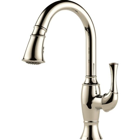 brizo kitchen faucet buy brizo 63003lf single handle pull down kitchen faucet