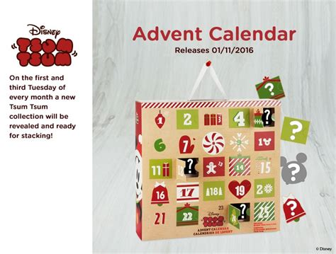 Cp White Big Tsum new tsum tsum advent calendar to be released nov 1