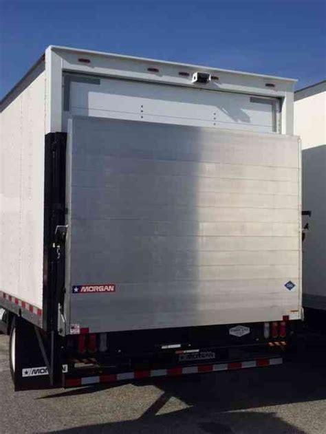 isuzu npr hd cng ft box large platform aluminum liftgate