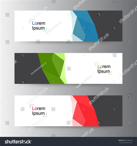 header design stock photos images pictures shutterstock abstract geometric vector web banner design stock vector