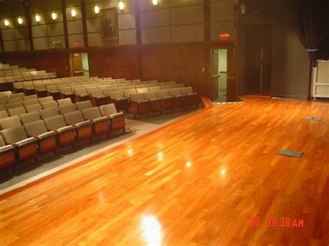 Stage Wood Flooring by Floor Medic Hardwood Refinishing Before After Gallery