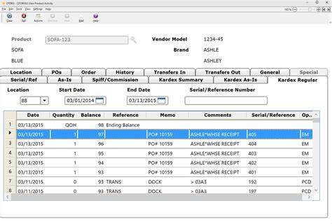 form design for inventory management system inventory management software for furniture retailers storis